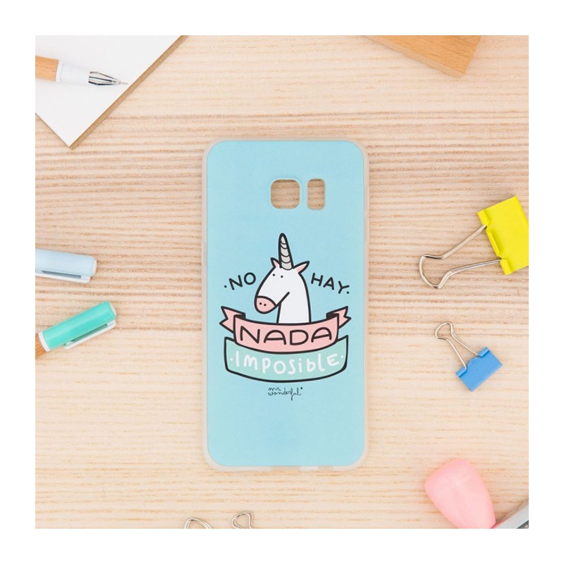 funda-samsung-s6-edge-plus-carcasa-mr-wonderful-unicornio-no-hay-nada-imposible