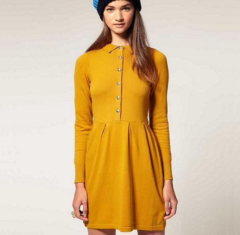 vestido-de-moda-color-mostaza-2
